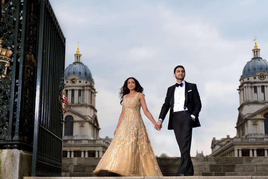 Bal Pretin Pre Wedding Shoot In Greenwich Park Indian Photography By London Based Hindu Photographer Jay Pankhania