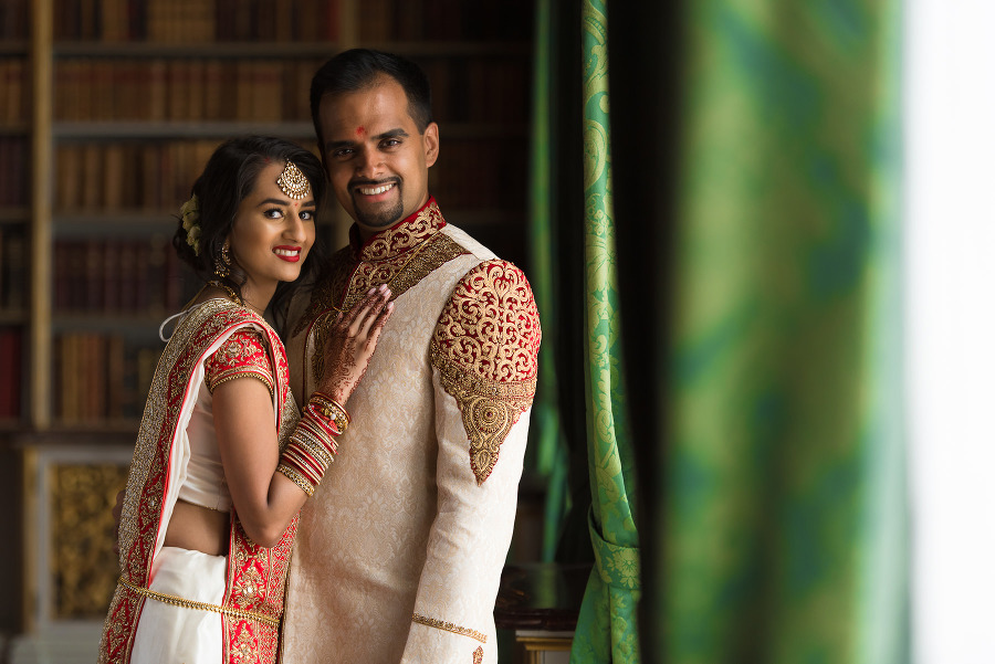 Ashni Chirag Hindu Wedding At Wrest Park English Gardens